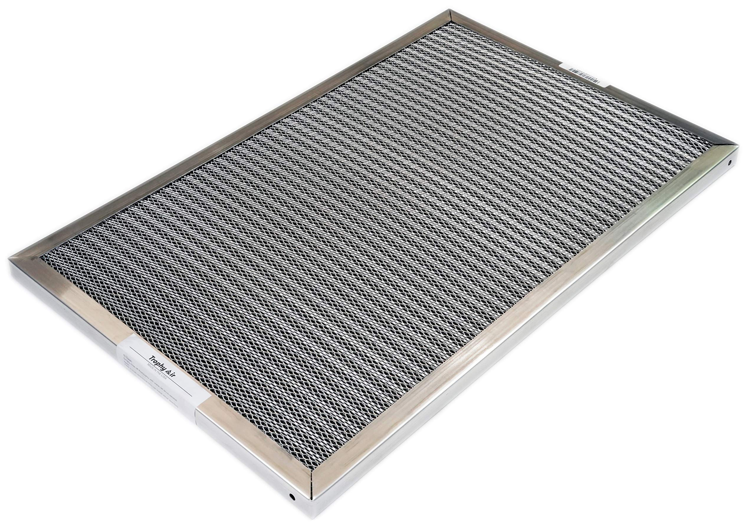 Easy to Install Purify Allergens for Cleaner Trophy Air Electrostatic Air Filter Replacement Made in the USA Healthier Home Environment 12x12x1 HVAC Conditioner Purifier
