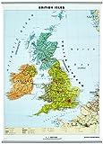 Sprachenkarte British Isles mit Phonetik