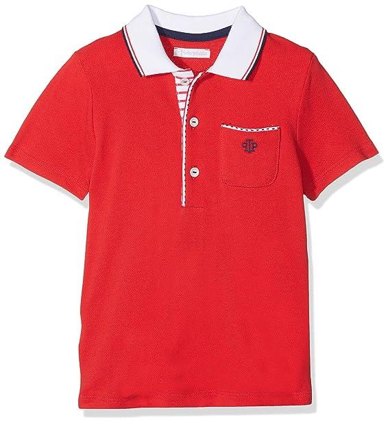 Tutto Piccolo 4814S18 Polo, Bebé-Niños, Rojo (Red R00), 98 (Tamaño ...