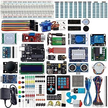 Smraza Ultimate Starter Kit para Arduino UNO R3 Proyecto con ...