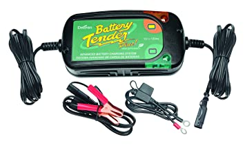 Battery Tender 022-0185G-DL-EU Plus Cargador de Batería 12V, 1.25A