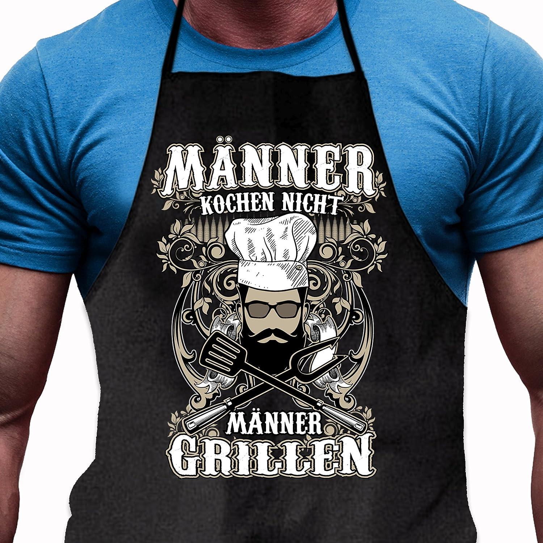 Shir Adhesivo Delantal Hombres Cocinar No - Hombres barbacoas - Divertido Regalo para Hombres de Verdad y Parrilla de Fans: Amazon.es: Jardín