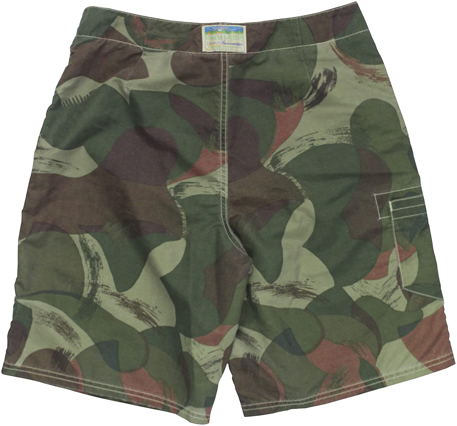 051cc46ed5 RALPH LAUREN Polo Men's Camouflage-Print Shelter Island Swim Trunks (34,  Eco Camo) | Amazon.com