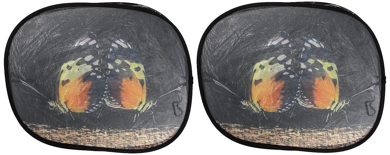 high-quality Walser 16705 Pare-soleil latéral autocollant 45 x 34 cm - Motif papillon