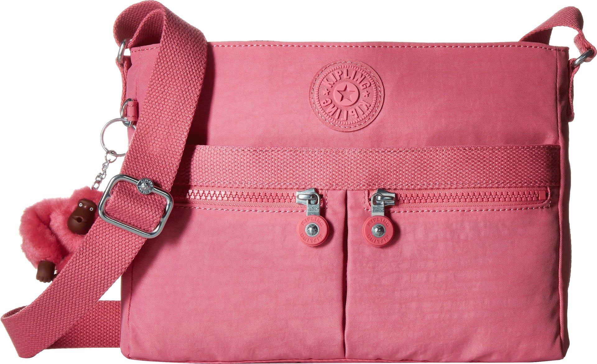 Kipling Angie Pink Macarons Convertible Crossbody Bag, Pnkmacaron