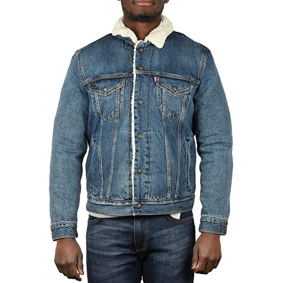 Levi's es Hombre Ropa 3 Amazon Type Trucker Chaqueta Para Sherpa pZrqpFCw