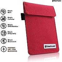 Silent Pocket Signal Blocking Faraday Key Fob Case - Car Anti Theft Device Shielding Against All Signal Types, Including…