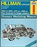 Hillman Imp Owner's Workshop Manual (Classic Reprint Series: Owner's Workshop Manual)