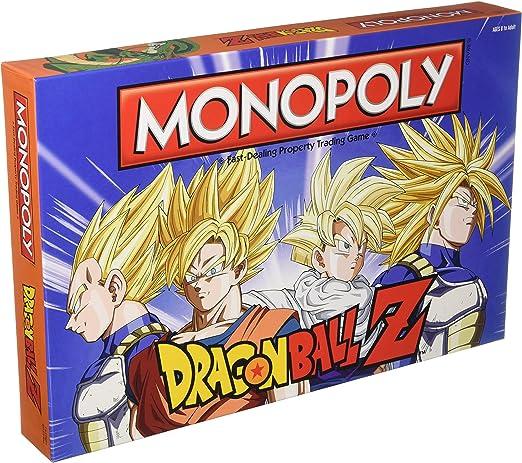 Dragon Ball Z Edition Monopoly Juego De Mesa: Amazon.es: Juguetes y juegos