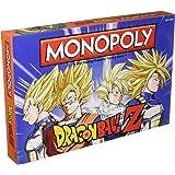 MONOPOLY Dragon Ball Z Board Game   Recruit Legendary Warriors GOKU, VEGETA and GOHAN   Official Dragon Ball Z Anime…