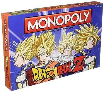Dragon Ball Z Edition Monopoly Juego De Mesa Amazon Es Juguetes Y