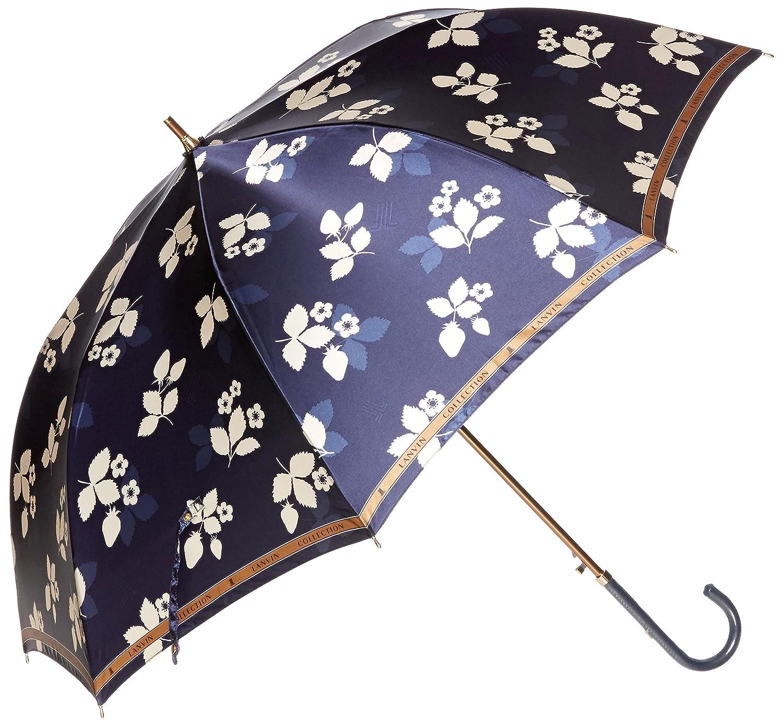 (ムーンバット) MOONBAT ランバンコレクション 長傘(軽量) ポリエステルサテンプリント B078F18DZM  ネイビー 日本 親骨の長さ60cm-(FREE サイズ)