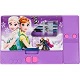 Toyvala Frozen Jumbo Dual Sided Pencil Box (Pack of 3 Pencil Boxes)