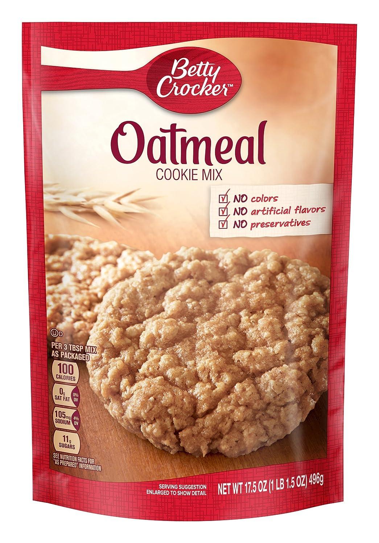 Betty Crocker Cookie Mix, Oatmeal, 17.5 oz