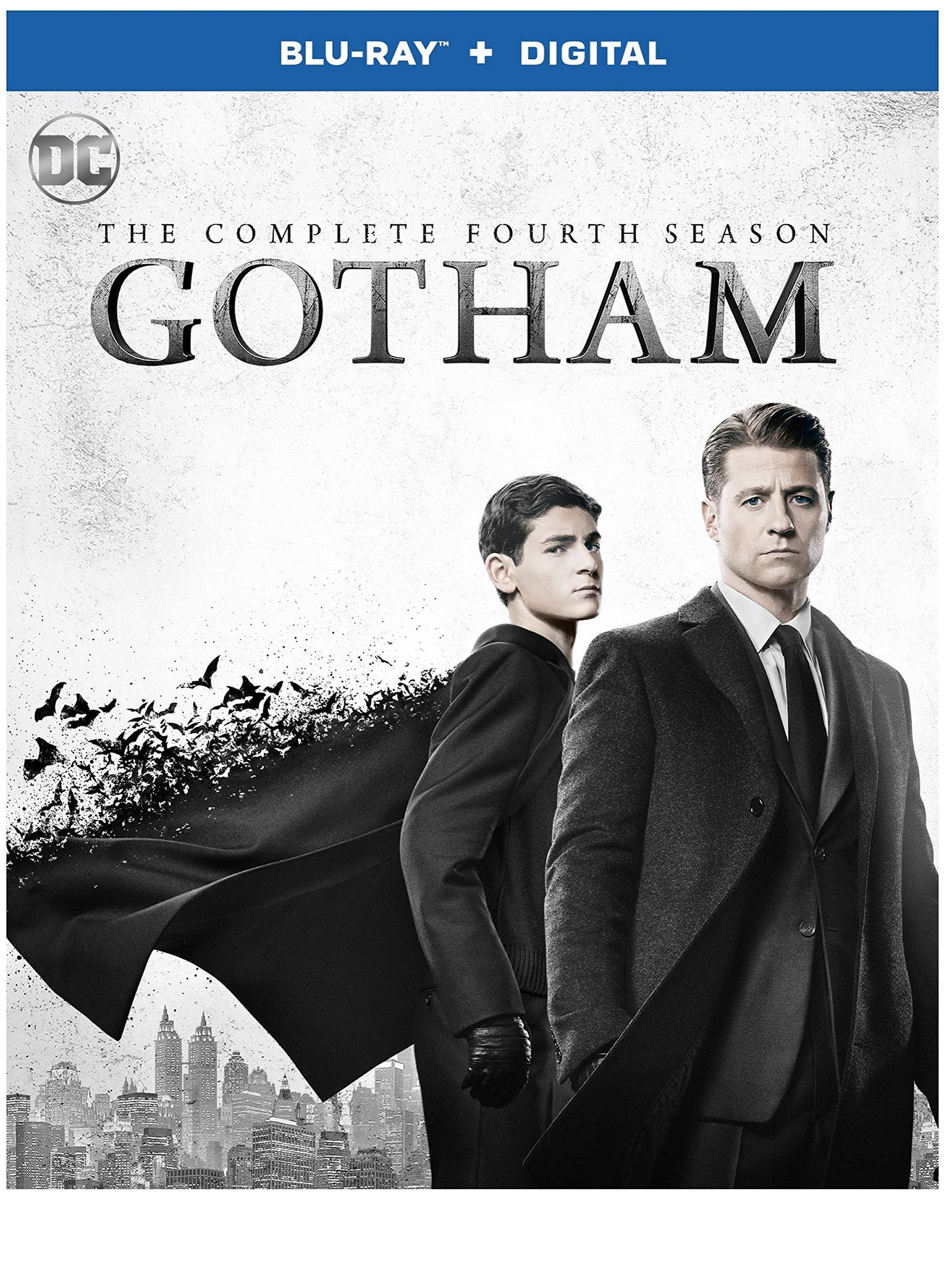 Blu-ray : Gotham: The Complete Fourth Season (dc) (Boxed Set, Digital Copy, 4PC)