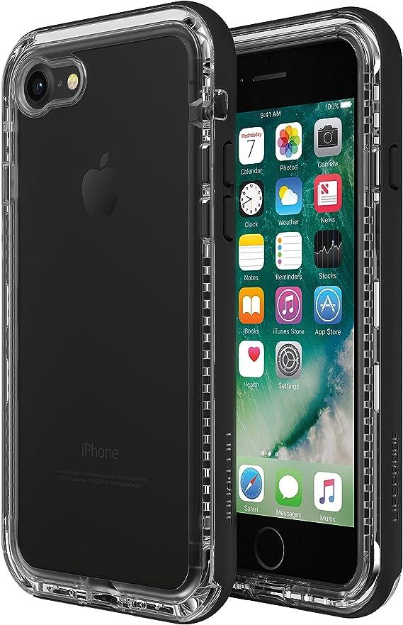 Amazon Com Lifeproof Next Coque Anti Choc Et Anti Poussiere Iphone 7 8 Se 2020 Noir Transparent