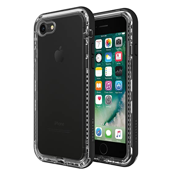 san francisco cf7d6 f597d LifeProof Next Case for iPhone 8 and iPhone 7 - BLACK CRYSTAL (CLEAR /  BLACK)