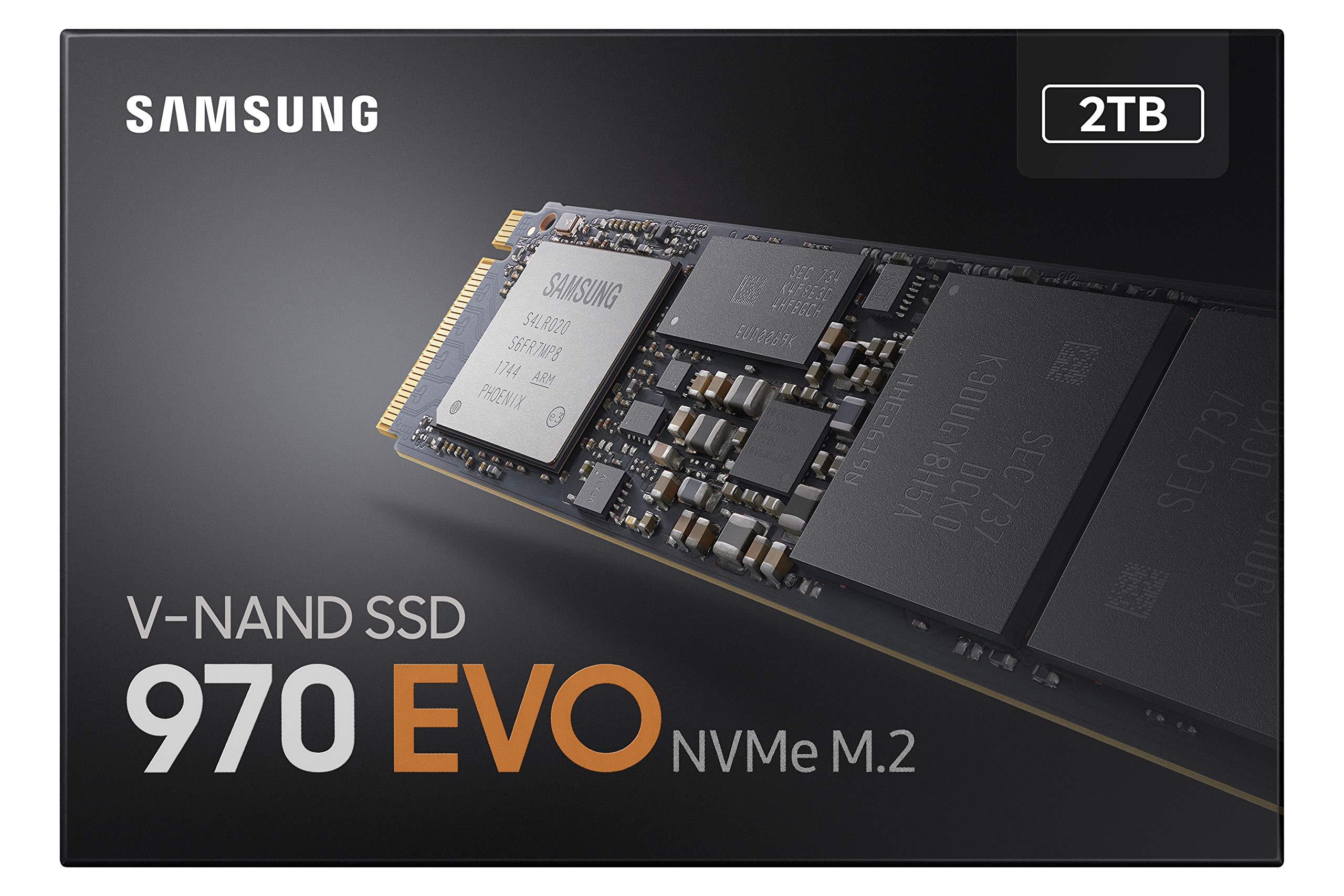 Samsung SSD 970 EVO 2TB - NVMe PCIe M.2 2280 SSD (MZ-V7E2T0BW) by Samsung (Image #10)