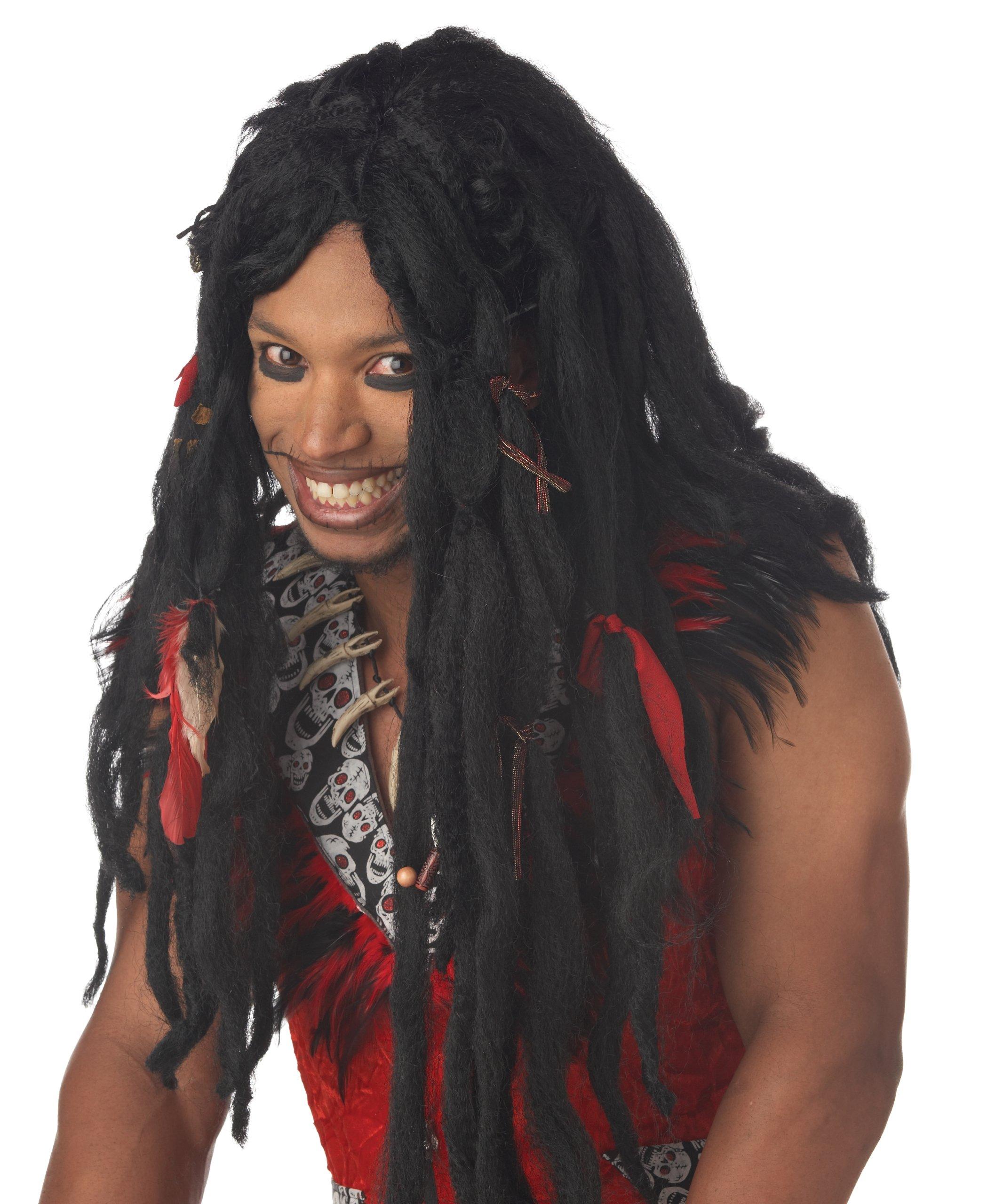 Voodoo Dreads Costume Wig