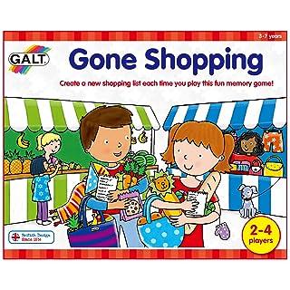 Galt Toys - Gone Shopping, Gioco di memoria [lingua inglese] Selegiochi s.r.l. 1003967