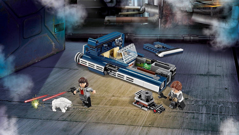 LEGO Star Wars Han Solo'S Landspeeder Toy Incl. Han Solo & Qi\'ra Minifigures