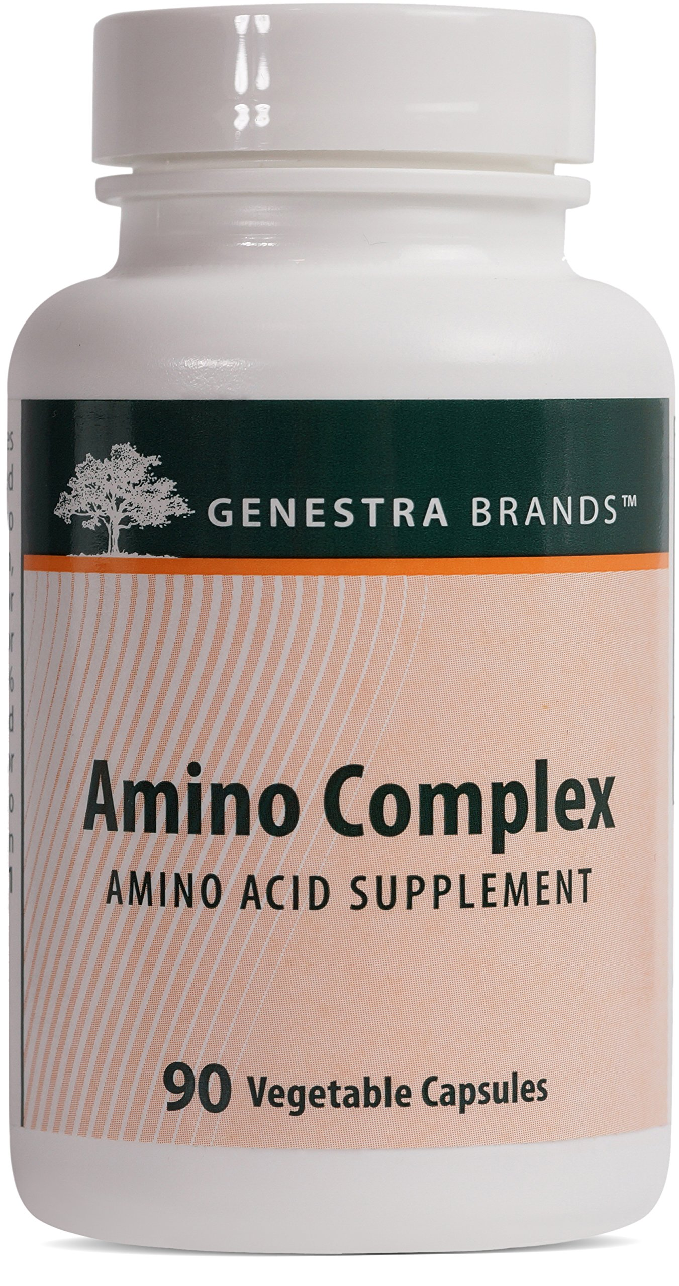 Genestra Brands - Amino Complex - Vegetarian Amino Acid Supplement - 90 Capsules