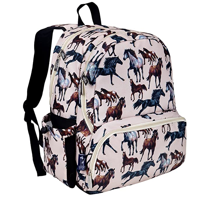 Wildkin 17 Inch Backpack, Durable Backpack with Padded Straps
