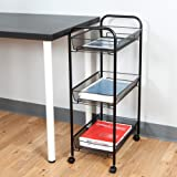 Mind Reader 3-Tier All Purpose Rolling Utility