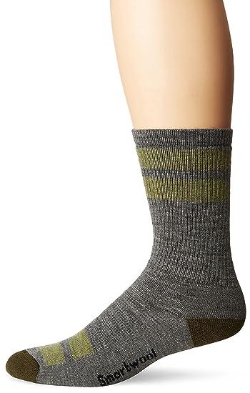 19416f88870ed Amazon.com: SmartWool Men's Striped Hike Medium Crew Socks - Past Season:  Clothing
