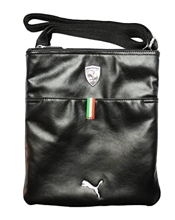 New Puma Men s Ferrari Long Sleeve Magazine Bag, Black, One Size ... d4c4c3400d