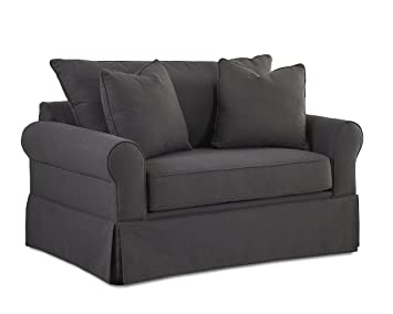 Klaussner Brook Dreamquest Chair Sleeper, Flannel