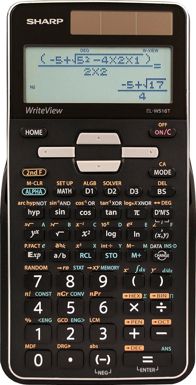 Amazon.com: Sharp Calculators EL-W516TBSL Advanced Scientific ...