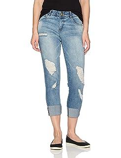 62e62966bc7b1 Amazon.com: Jolt Women's Slider Pull on Jegging Jean (1, INDIGO5 ...