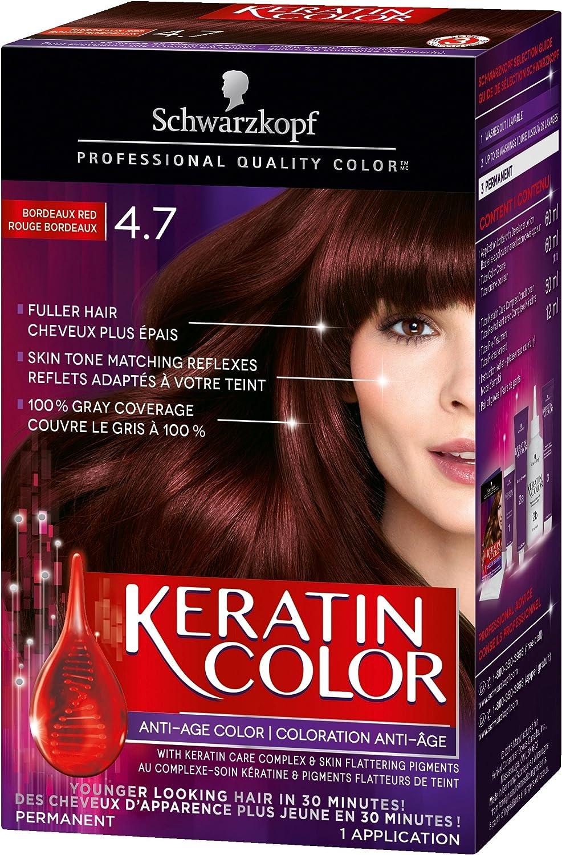 Schwarzkopf Keratin Color Anti-Age Permanent Hair Color Cream, 3.0 Espresso, 60 Milliliter (2039465)