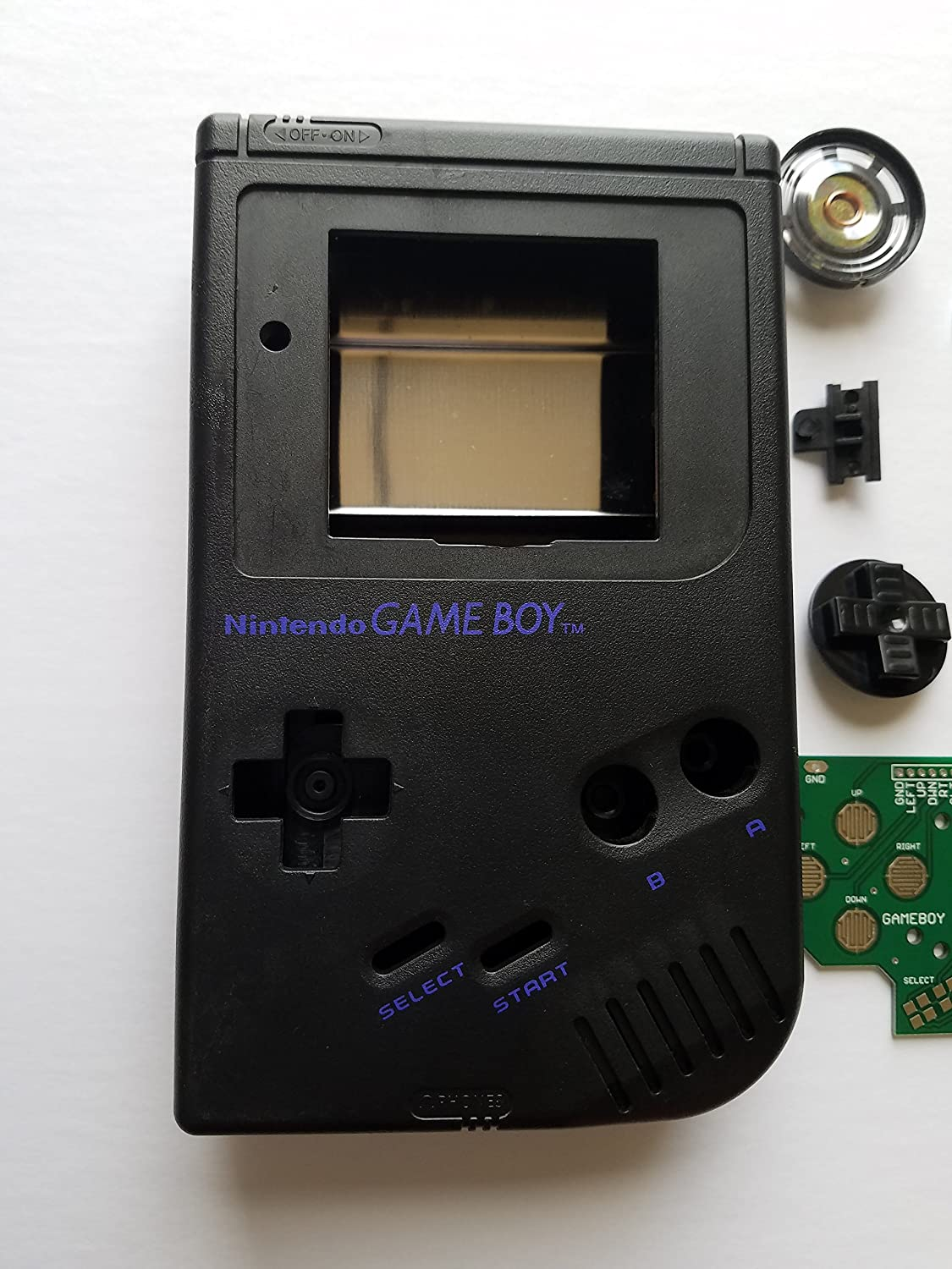 Black Starter Kit Gameboy Zero Dmg 01 4 Button Pcb Diy W Making Systems Circuit Case Speaker Buttons By Atomic Market Computers Accessories