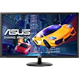 Asus VP28UQG, Monitor da Gaming da 28'' (71,1 cm), 3840 x 2160 Pixel, 4K Ultra HD, 1 ms, 300 cd/m², Nero