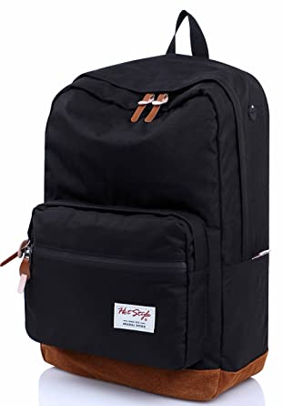 Amazon.com | HotStyle 915s Vintage College School Backpack ...