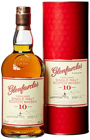 Glenfarclas 10 Jahre Highland Malt 1 X 07 L