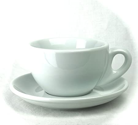 4361e6f253f Nuova Point PALERMO B108 Latte Cups, Latte Mug, Set of 6 W 108 White ...
