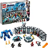 Lego Super Heroes O Salão das Armaduras de Iron Man 76125