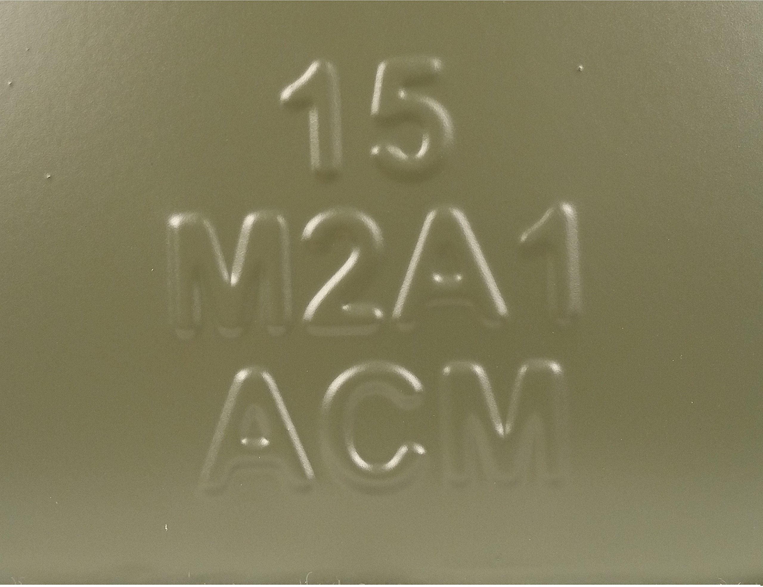 ACM New MilSpec 50 Cal Ammo Can with Locking Hardware