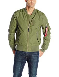 9eacb59807c Alpha Industries Men s MA-1 Skymaster Water Resistant Flight Bomber Jacket