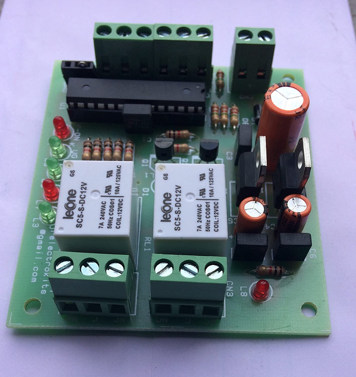 Buy Jr Electrokits Universal Fully Automatic Water Level Controller At Pc Power Supply 1 Electronic Circuit By Levone Works On 12vac Dc Online Low Prices In India