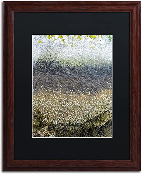 Layers By Nicole Dietz Black Matte Wood Frame 16x20 Inch Home Kitchen