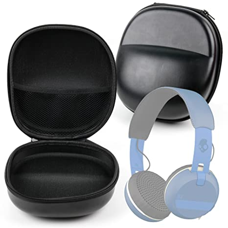 Amazon.com: Duro EVA carcasa auriculares Funda (Negro ...