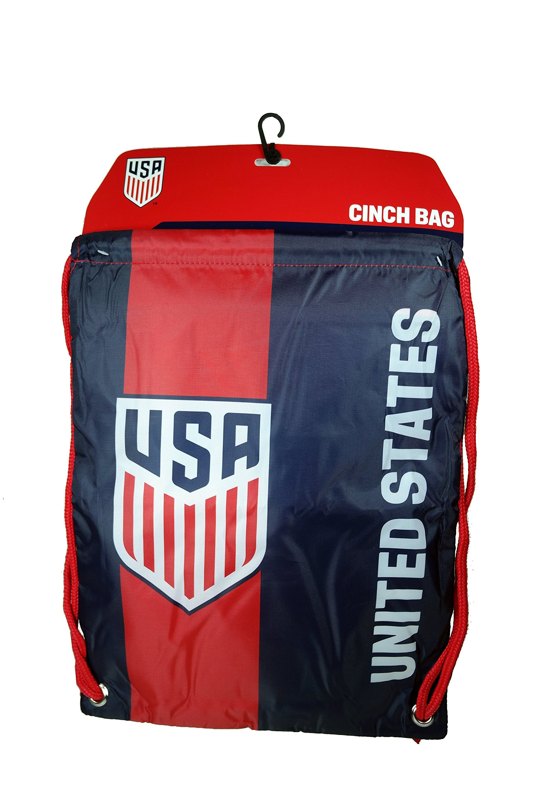 Iconsports US Soccer Authentic Official Licensed Soccer Drawstring Cinch Sack Bag 001