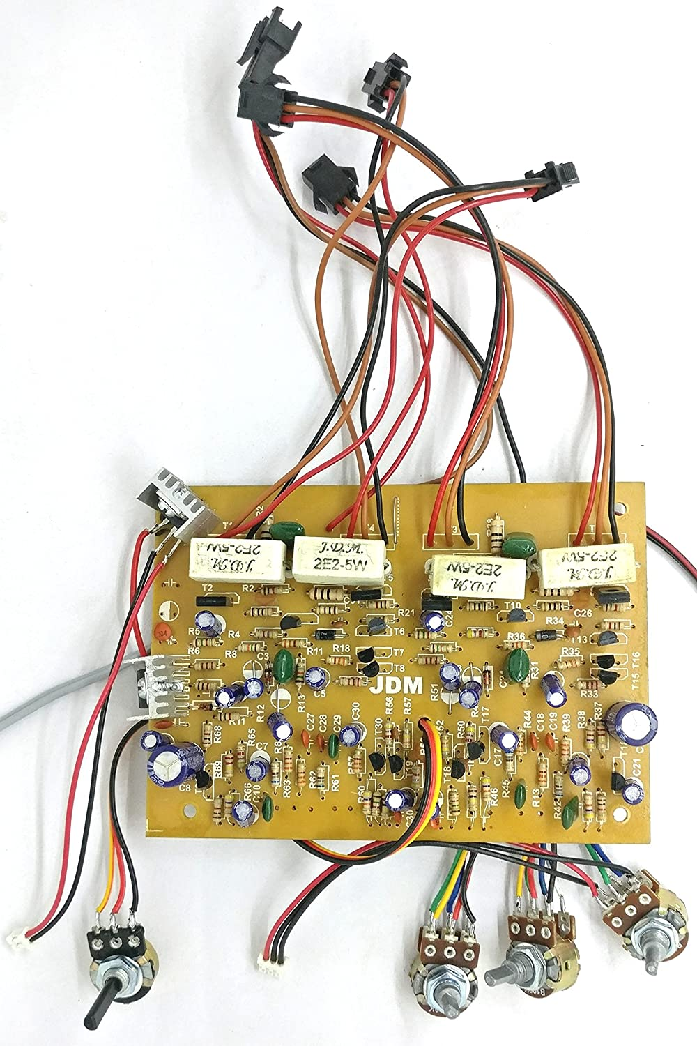 Tech And Trade 300w Diy 2n3055 Transistor Based Stereo Circuit Diagram Of One Electronic Code Lock System Electronics