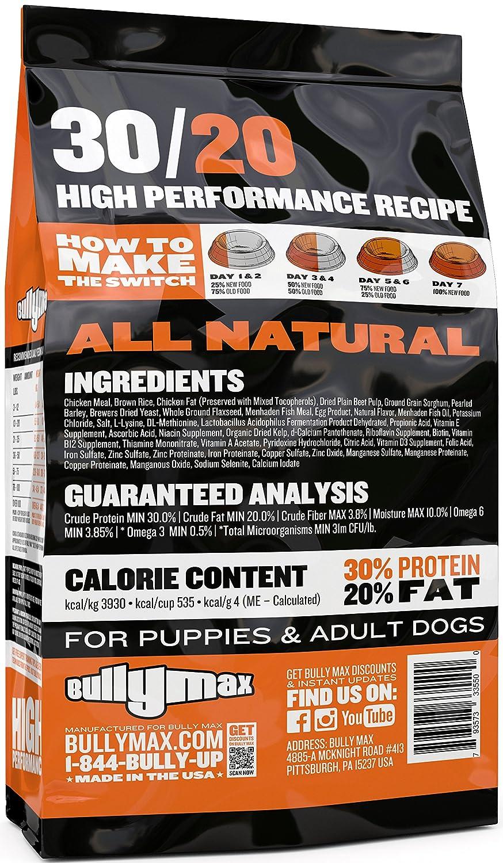 Amazon bully max high performance super premium dog food 15 amazon bully max high performance super premium dog food 15 lbs pet supplies forumfinder Choice Image