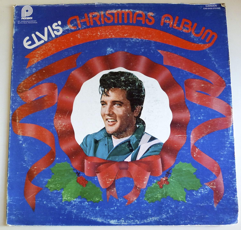 Elvis Presley Elvis Christmas Album Vinyl Cas2428 Music