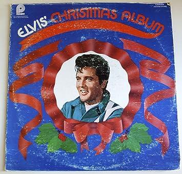 Elvis Christmas Album.Elvis Christmas Album Vinyl Cas2428 Original Recording Reissued